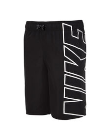 Junior Boy 8 Inch Logo Volley Short
