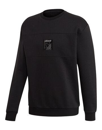 Mens Outline Logo Crew Neck Sweatshirt