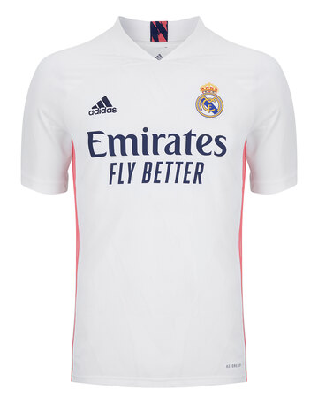 Adult Real Madrid 20/21 Home Jersey