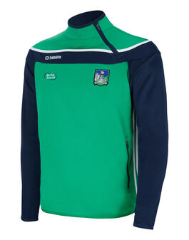 Mens Limerick Slaney Side Zip Top
