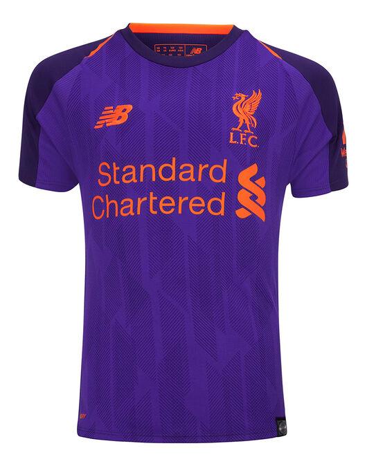 4ddb104c4aa Kids Liverpool 18 19 Away Jersey