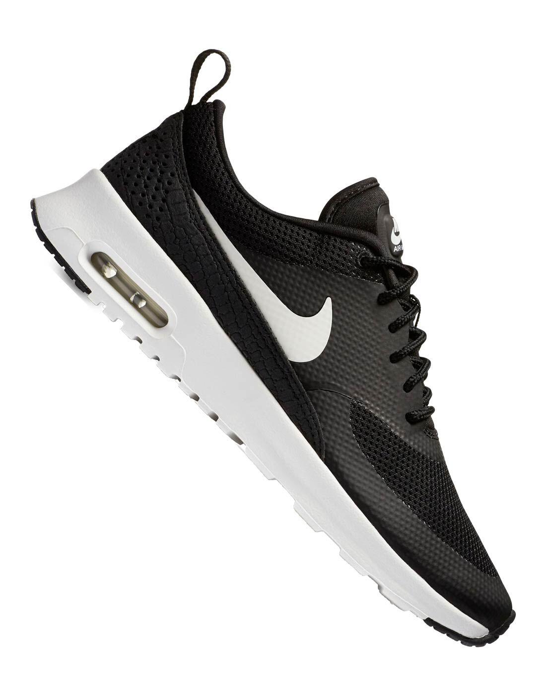 Nike Womens Air Max Thea | Black | Life Style Sports