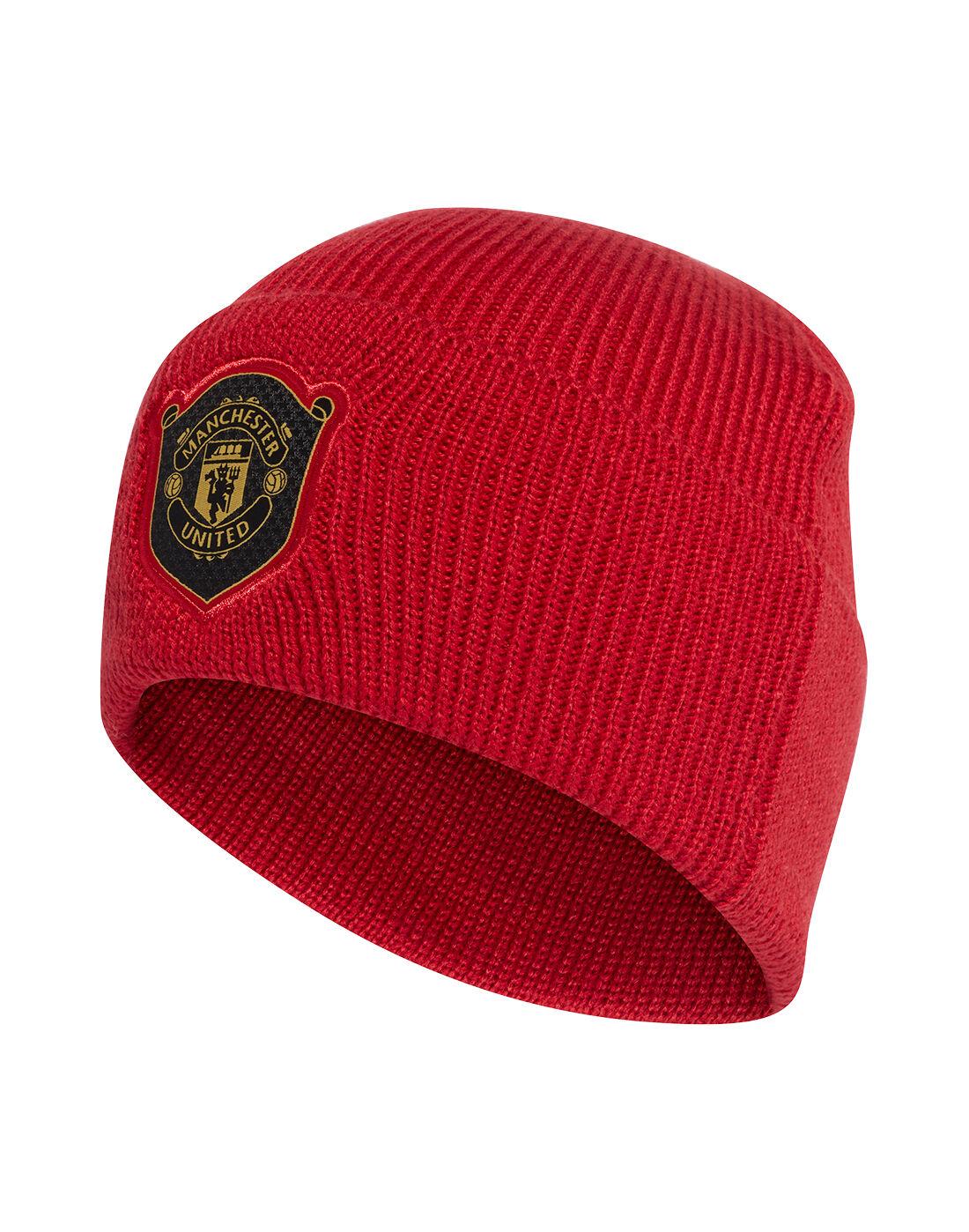 Manchester United Baby Beanie Hat 6-12 Months