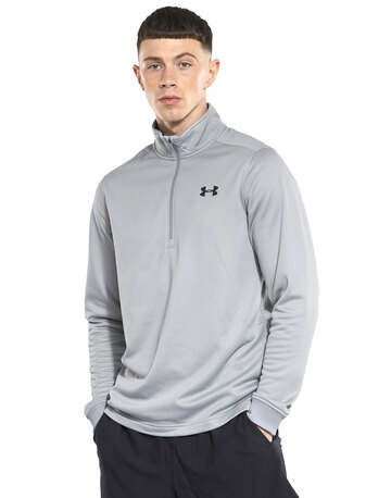 85b1cd298 Mens Armour Fleece Half Zip Top ...