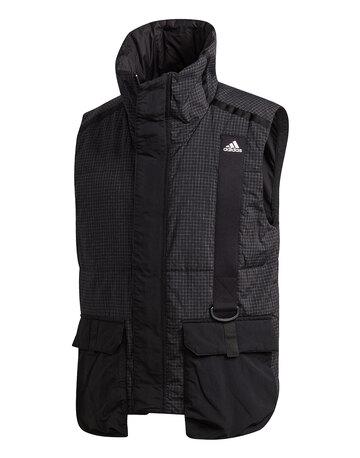 Mens Utility Vest Jacket