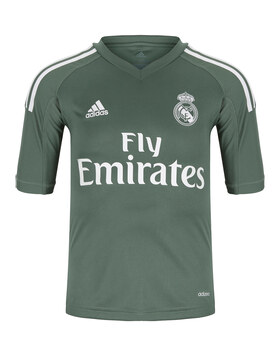 Kids Real Madrid 17/18 Home GK Jersey