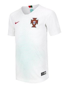 Kids Portugal Away WC18 Jersey