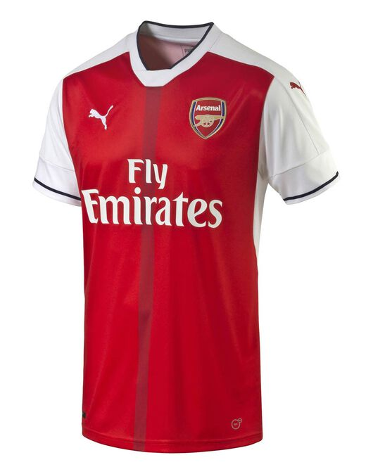 Adult Arsenal 2016\17 Home Jersey