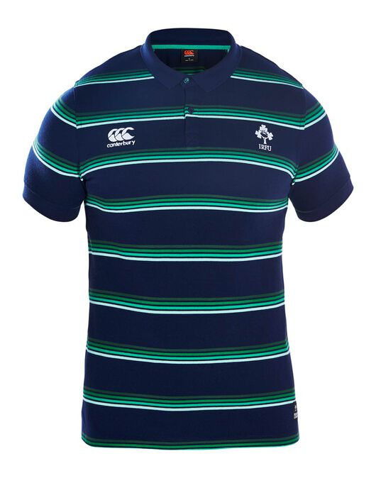 Mens Ireland Stripe Polo