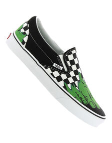 Mens Classic Slip On Marvel Hulk