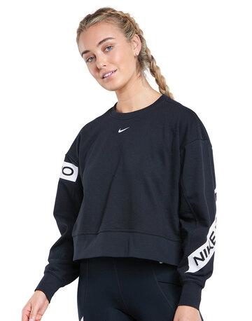 Womens Get Fit Crew Sweatshirt