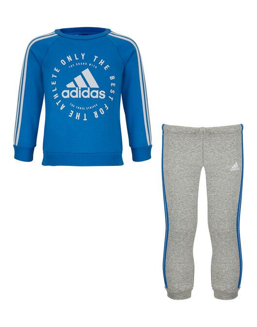 5e6df875b75a adidas. Infant Boys 3 Stripe Jogger
