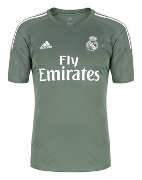 Mens Real Madrid 17/18 Home GK Jersey