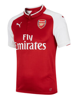 Adult Arsenal 2017/18 Home SS Jersey