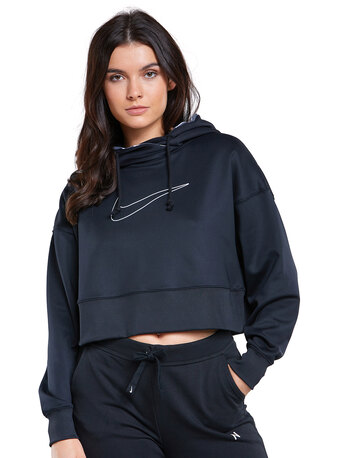 Womens All Therma Cropped Hoodie