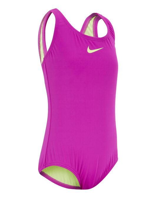 Junior Girls Core Solid Swimsuit