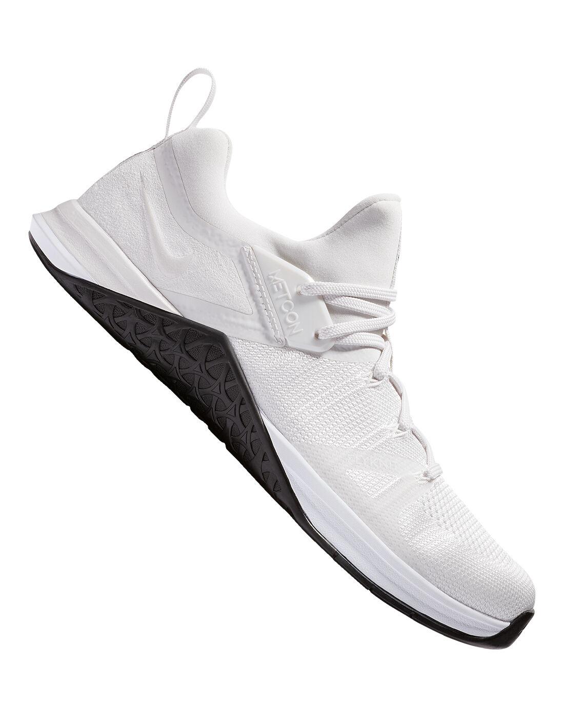 Men's White Nike Metcon Flyknit 3