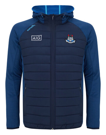 Mens Dublin Portland Full Zip Hooded Jacket