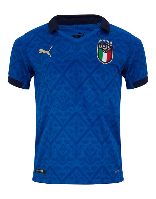 Kids Italy Euro 2020 Home Jersey