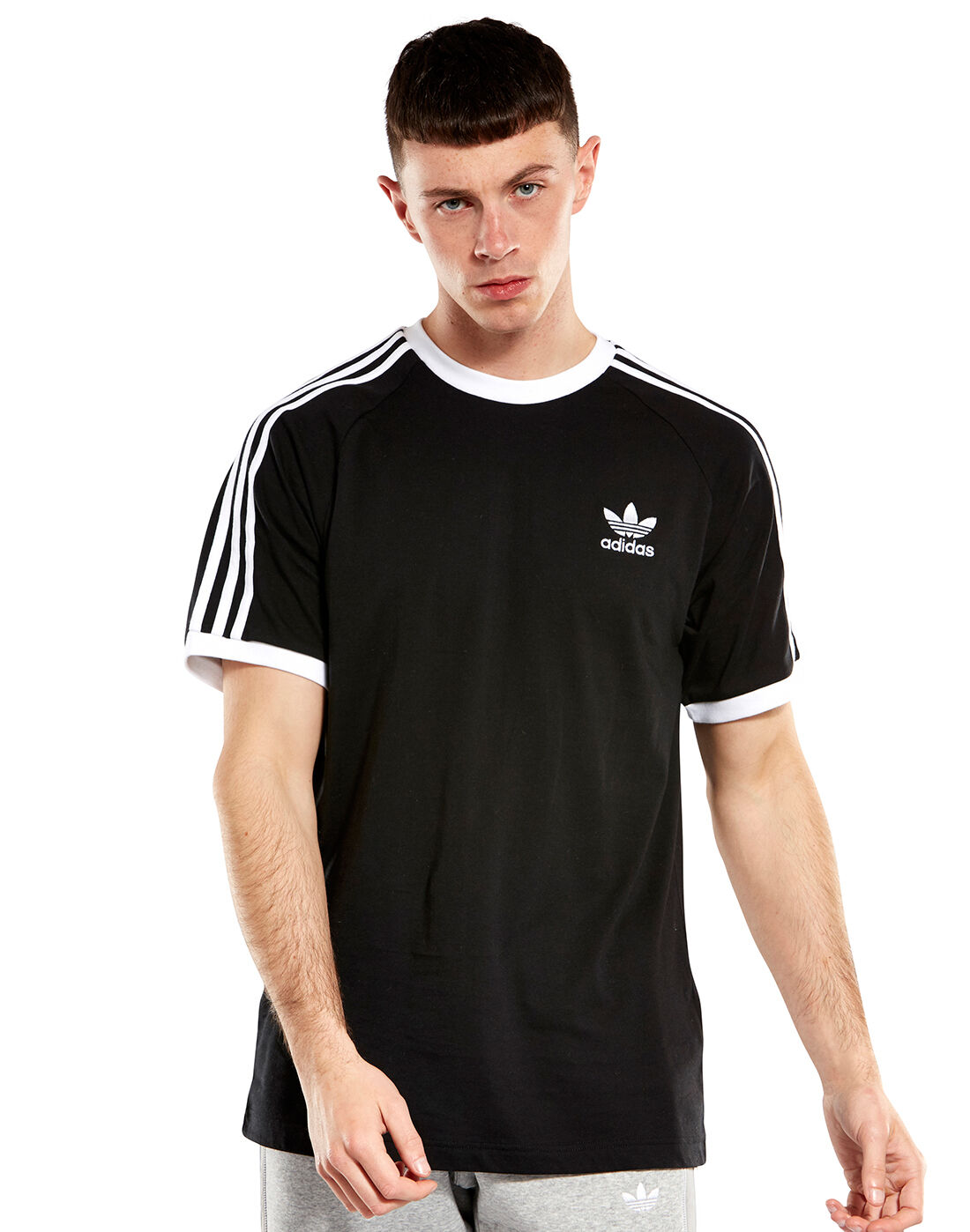ADIDAS ORIGINALS 3 STRIPES Trefoil Tee Männer T Shirt