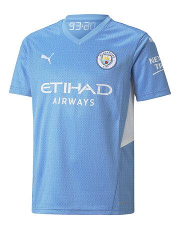Kids Manchester City 21/22 Home Jersey