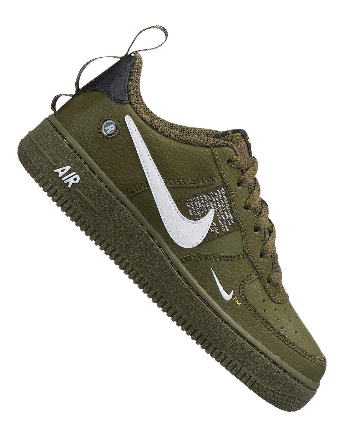 Boy's Green Nike Air Force 1 | Life