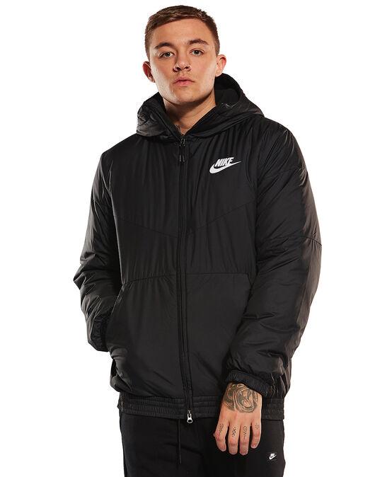 fd2196590 Men's Black Nike Synthetic Jacket | Life Style Sports