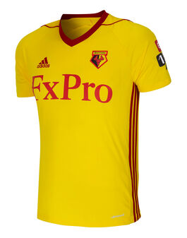 Adult Watford Home 17/18 Jersey
