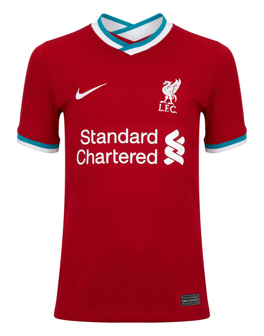 Kids Liverpool 20/21 Home Jersey
