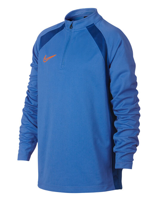 95e1c7c7 Boy's Blue Nike Academy Half Zip Top | Life Style Sports
