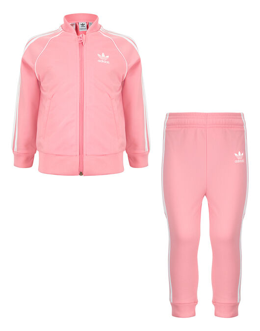paquete de moda y atractivo elige auténtico diseño atemporal Infant Girl's Pink adidas Originals Superstar Tracksuit | Life ...