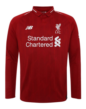 Kids Liverpool 18 19 Home Jersey LS ... c0fac78a0