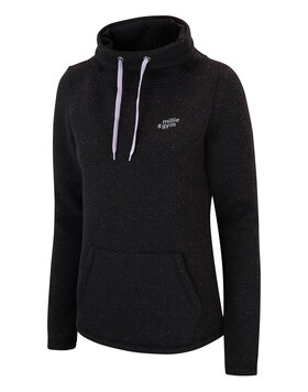 Womens Funnel Neck Hoodie