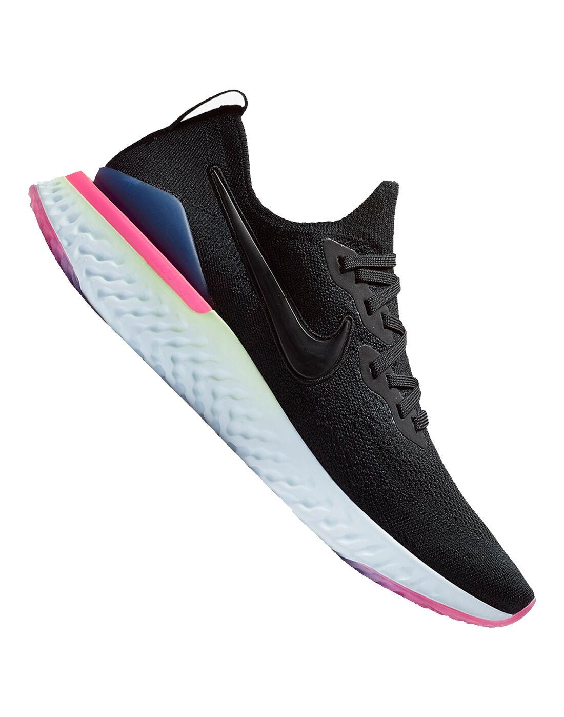 Men's Black Nike Epic React Flyknit 2