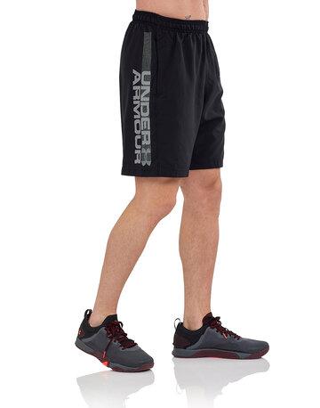 Mens Woven Wordmark Shorts