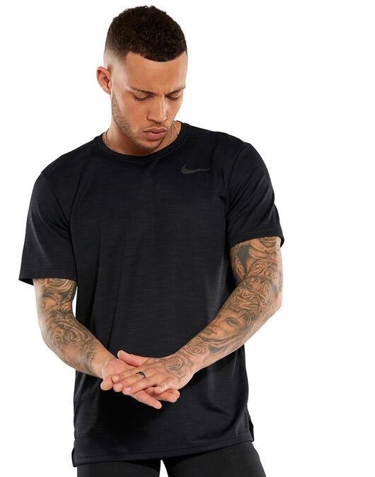 f3f3a4e5 Men's Black Nike Superset Gym T-Shirt | Life Style Sports