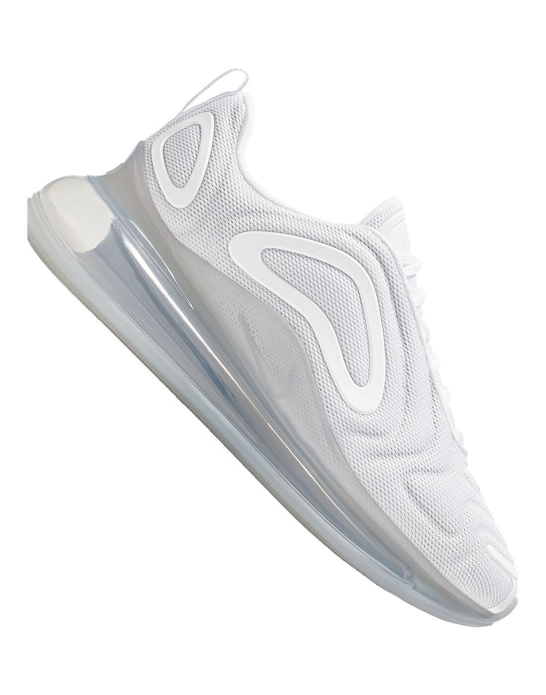 Women's White \u0026 Peach Nike Air Max 720