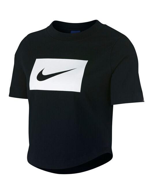 02eb5735 Nike Womens Swoosh Crop T-Shirt | Life Style Sports