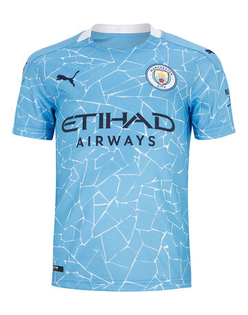 Kids Man City 20/21 Home Jersey
