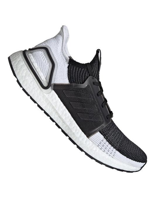 fe7422f7e5711 Men s Black   White adidas Ultra Boost 19