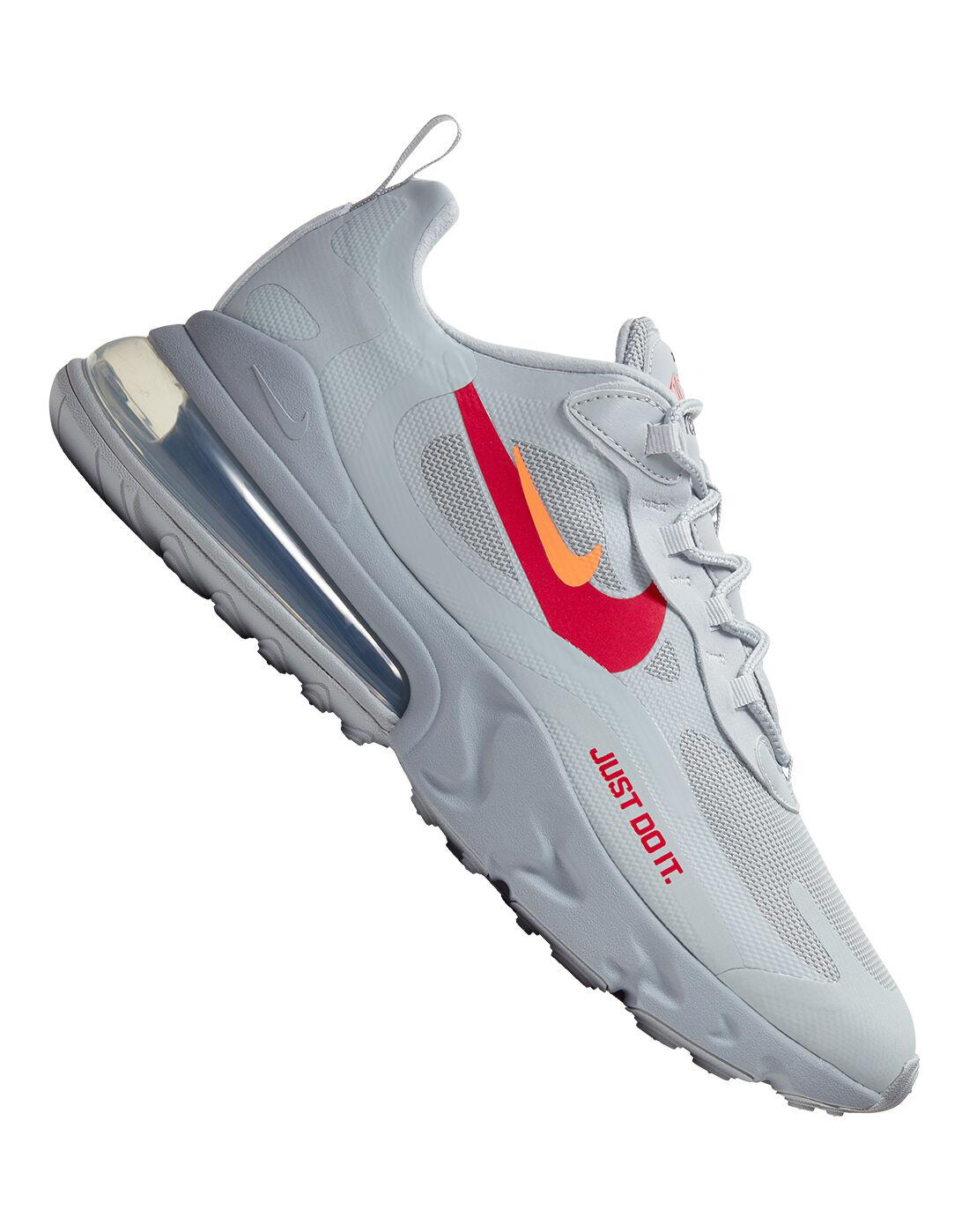 Nike Mens Air Max 270 React - Grey