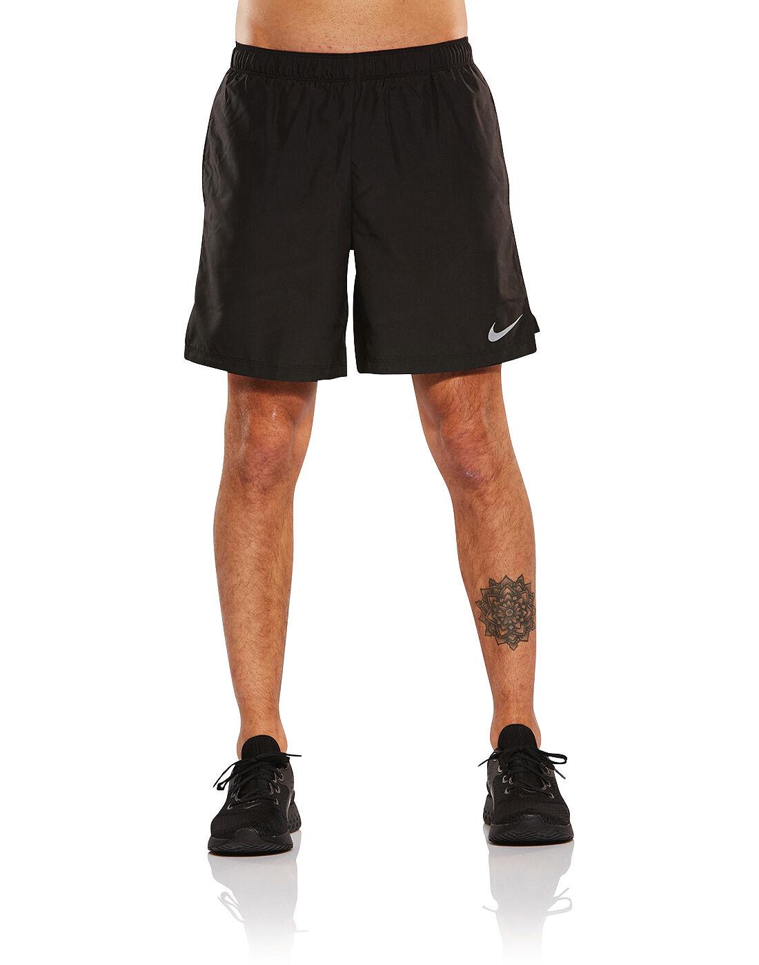 nike 7 inch shorts grey