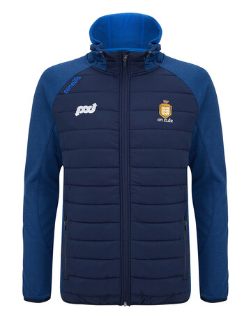 Mens Clare Portland Full Zip Hooded Jacket