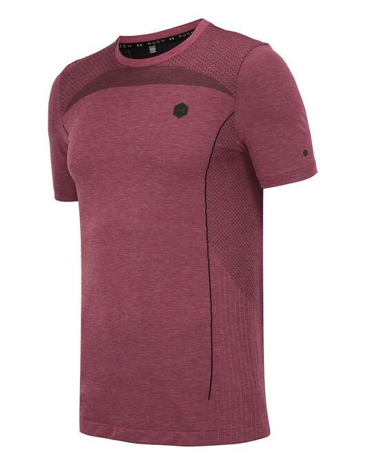 Mens Rush Heatgear Fitted T-shirt