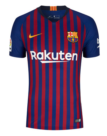 0631fb6b963 Adult Barcelona Home 18 19 Jersey ...