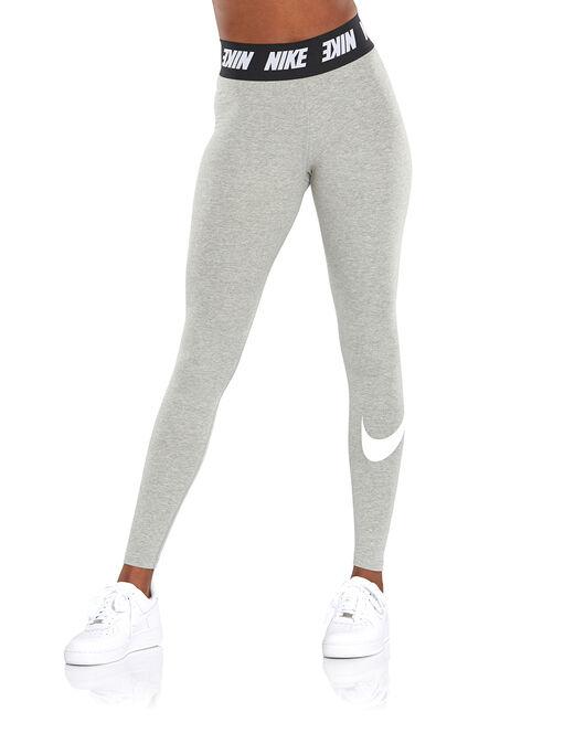 a4395a66b9 Women's Grey Nike High Waisted Leggings   Life Style Sports