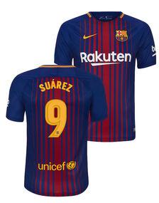 Adult Barcelona Suarez Home Jersey