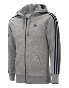 Mens Essential 3 Stripe Full Zip