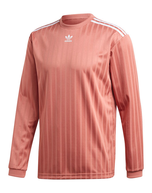 703427873477 adidas Originals Mens Long Sleeve Jersey | Pink | Life Style Sports