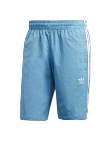 Mens 3-Stripe Swim Short